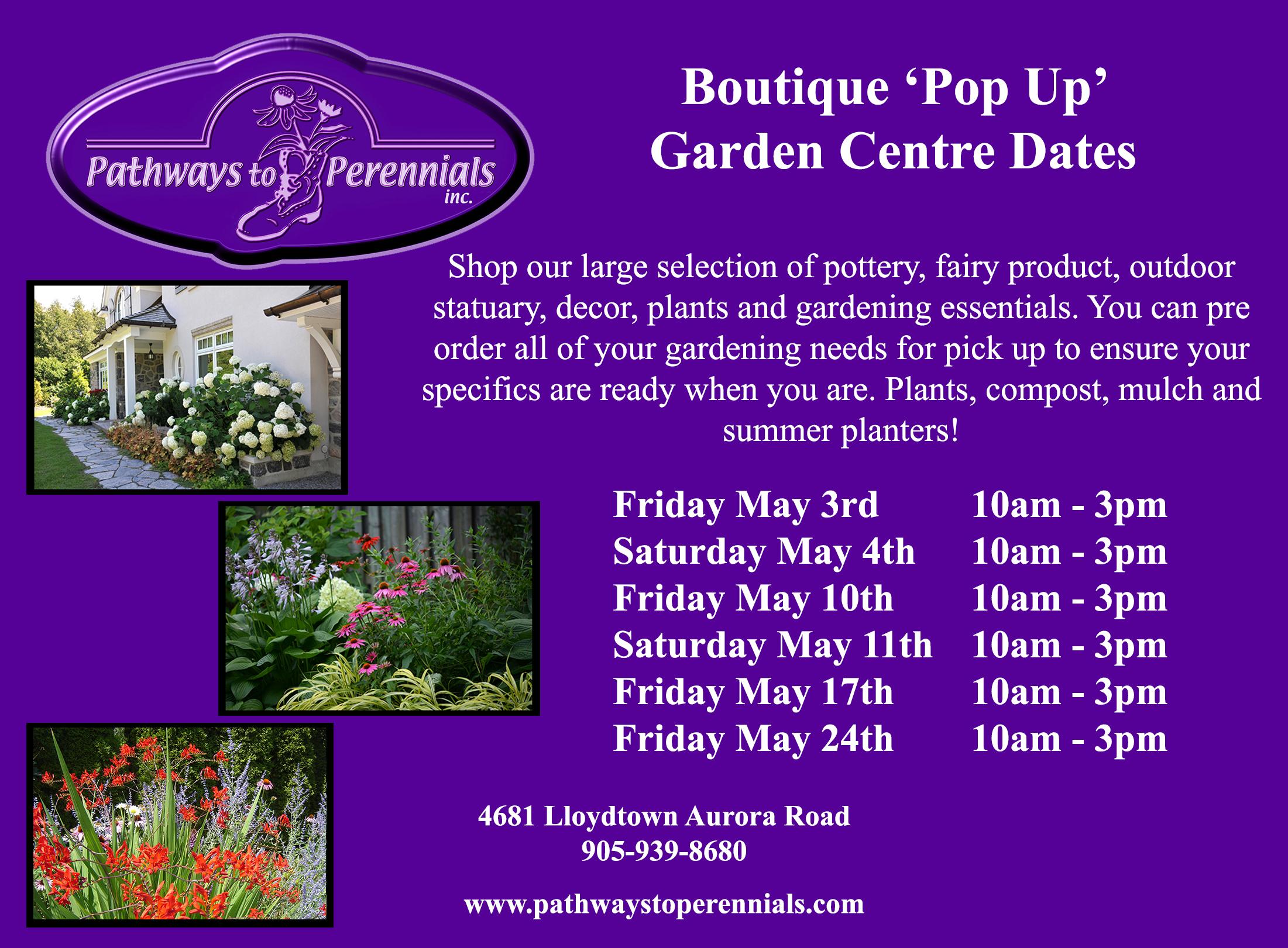 Garden Centre Newmarket Aurora King | Pathways to Perennials
